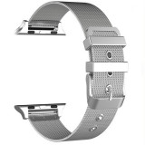 Curea tip Milanese Loop, compatibila Apple Watch 40mm, Silver