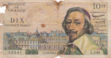 FRANTA 10 FRANCI NOI NOUVEAX FRANCS 1961 UZATA