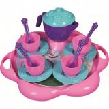 Set de ceai cu tavita 16 piese Ice World Ucar Toys