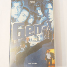 Caseta video VHS originala film tradus Ro - GEN-X Cops