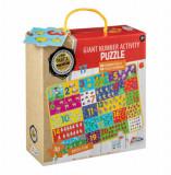 Puzzle gigant Numere, 30 piese, Grafix
