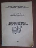 Morfologia fuctionala a dintilor si arcadelor dentare-Mihalache Constantin