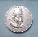 Medalie Vlad Tepes - Basarab - 8 cm diametru