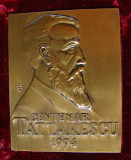 Placheta Centenar Tattarescu 1994