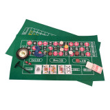 Joc de societate 4 in 1 Casino Games Gameland, 21 carti de joc, Oem