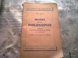 MISERE DE LA PHILOSOPHIE KARL MARX *CARTE IN LIMBA FRANCEZA)