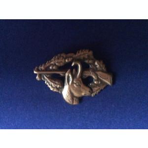 Insigna vanatoare AGVPS Romania - Capra neagra