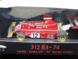 Macheta Ferrari 312 B3 1974 Niki Lauda Hotwheels Elite 1:43