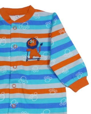 Salopeta / Pijama bebe cu dungi colorate Z82 foto