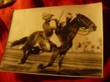Fotografie de Presa 1934 - Duel pe spatele cailor -Exercitiile Armatei Britanice