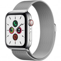 Smartwatch Apple Watch Series 5 GPS Cellular 44mm Stainless Steel Case Stainless Steel Milanese Loop