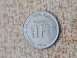 1 franc 1970 Burundi., Australia si Oceania, Cupru-Nichel