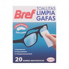 Șervețele pentru Curățarea Ochelarilor Bref (20 uds)