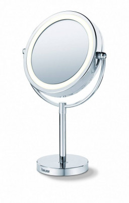 Oglinda cosmetica iluminata Beurer BS69 diametru 17 cm marire 5x foto