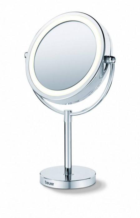 Oglinda cosmetica iluminata Beurer BS69 diametru 17 cm marire 5x