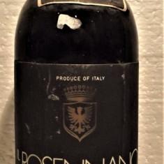 A69 -VIN CHIANTI CLASSICO, IL ROSENNANO VINTAGE DOC recoltare 1980 cl 75 gr 12