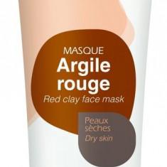 Mini Masca naturala din argila rosie, ready-to-use, pt ten uscat/ fara...