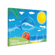 Tablou fosforescent Delfin