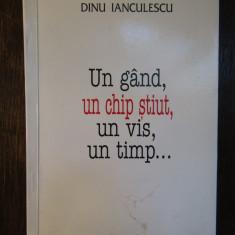 Un gand, un chip stiut, un vis, un timp...Dinu Ianculescu  ( dedicatie )