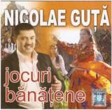 CD Nicolae Guță – Jocuri Bănățene , original, manele