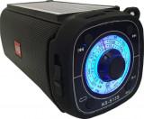Boxa Portabila, Panou Solar, Lanterna, Bluetooth, Radio AM/FM, USB, SD Card