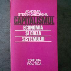 CAPITALISMUL. ECONOMIA SI CRIZA SISTEMULUI