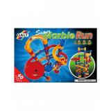 Set de constructie pentru copii Galt Super curse cu bilute de sticla, 4 ani+