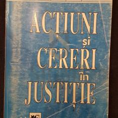 ACTIUNI SI CERERI IN JUSTITIE - ***