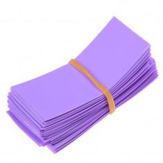 50 Bucăți 72/30mm tuburi PVC termocontractabile pe Culoare Violet