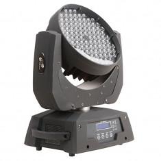 Proiector lumini Moving Head Light, 5 W x 108 LED, Negru
