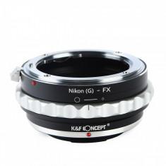 K&F Concept Nikon(G)-FX II adaptor montura de la Nikon G la Fuji X-Mount KF06.365