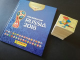 Album gol Panini cartonat World Cup 2018 var. 670 stickere + set complet nelipit
