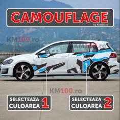 Set sticker CAMOUFLAGE (2 culori)