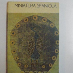 MINIATURA SPANIOLA de VIRGINIA CARTIANU,1988