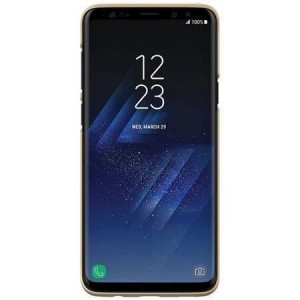 Husa Samsung Galaxy S9 Plus G965 Folie ProtectieNillkin Frosted Shield Rosie
