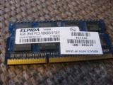 MEMORIE ram laptop ddr3 4 gb  1333 mhz ELPIDA 2Rx8 PC3-10600-9-10-F2