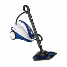 Aparat de curatat cu abur Polti Vaporetto Smart 40_Mop, 1800 W, Alb/Albastru
