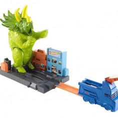 Jucarie Hot Wheels City Smashin Triceratops