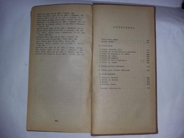 Carte veche,Basme,legende,snoave si cantece populare romanesti,1989,FB,T.GRATUIT