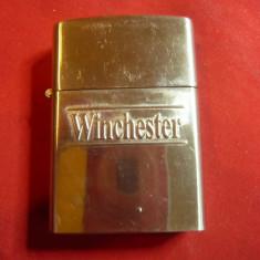 Bricheta marca Winchester , metal , h=5,6cm