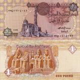 EGIPT 1 pound - semnatura 19 AUNC/AUNC+!!!