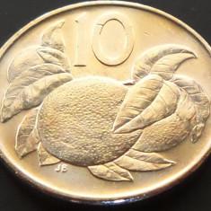 Moneda 10 CENTI - i-le COOK / OCEANIA, anul 2015   *cod 2673