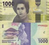 INDONEZIA 1.000 rupiah 2016 UNC!!!