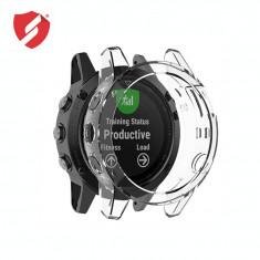Carcasa protectie TPU rama Garmin Fenix 5x / 5x Plus transparenta CellPro Secure