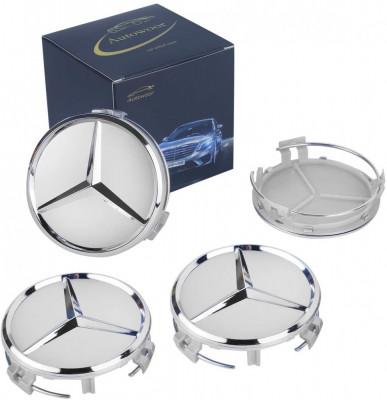 Capace Roti/Jante Mercedes Class gri Argintiu Silver 75mm A C E CLA/CLK foto