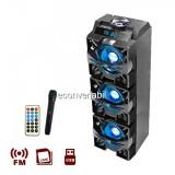 Boxa Portabila BT, FM, USB, SD, MIC si Telecomanda Ailiang USBFM3253DT