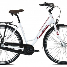 Bicicleta Oras Devron Urbio LC1.8 M 520mm Ice White 28