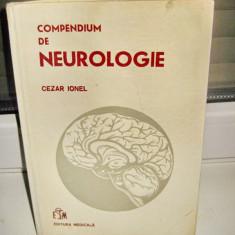 2.MEDICINA. CARTI ROMANIA-STRAINE. 2588-Cezar Ionel-Compendium de Neurologie.