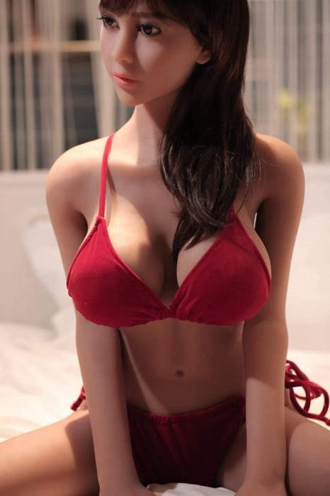 Aurora - papusa sexuala realista din silicon TPE Sex Doll - livrare in 24H
