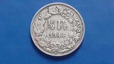 Elvetia , 1/2 Franc 1944 foto